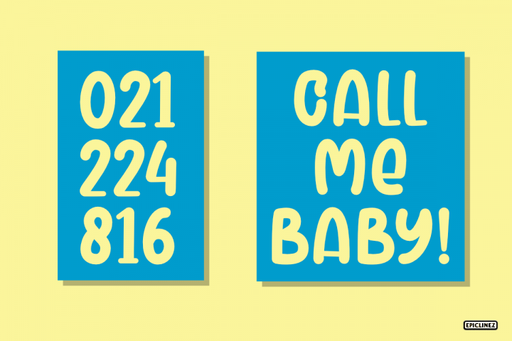 Meyriska - A Cute Bold Font example 3