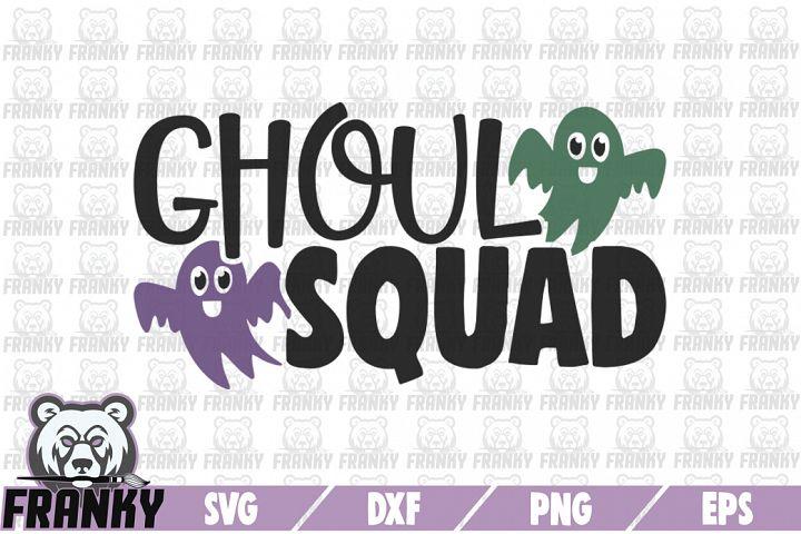 Ghoul squad - SVG - DXF - EPS - PNG