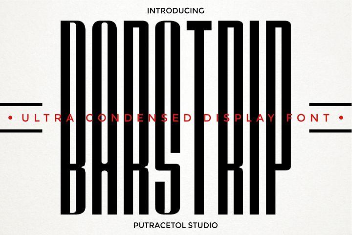 BARSTRIP - Ultra Condensed