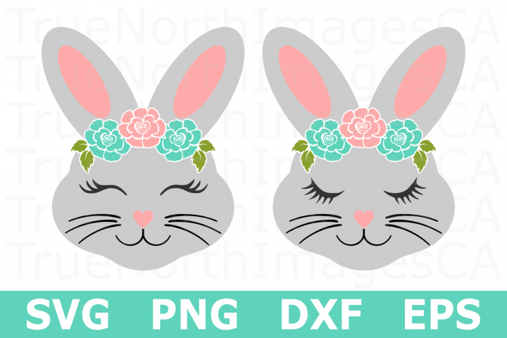 Bunny Faces - An Easter SVG Cut File