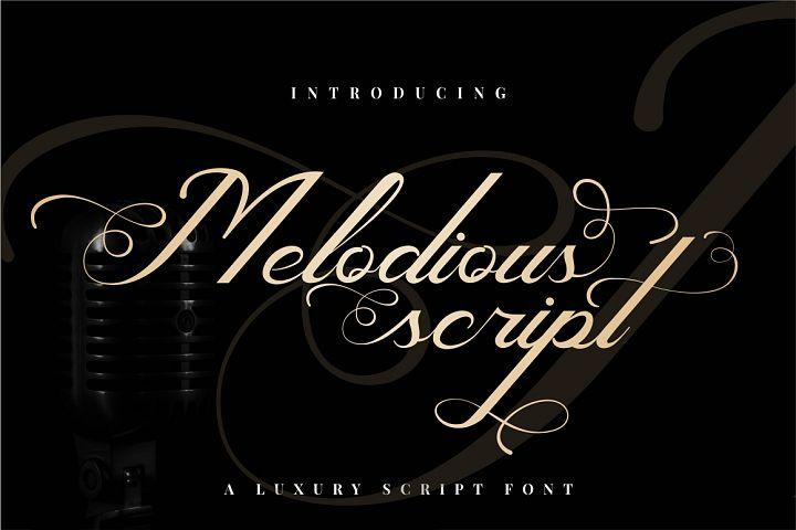 Melodious Script