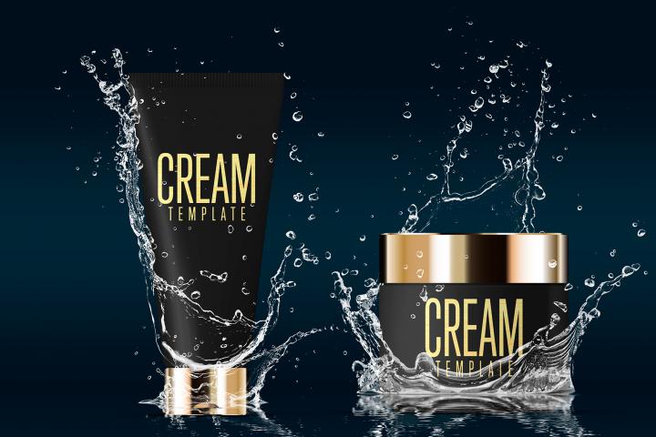 Cosmetics Mockup Advertising