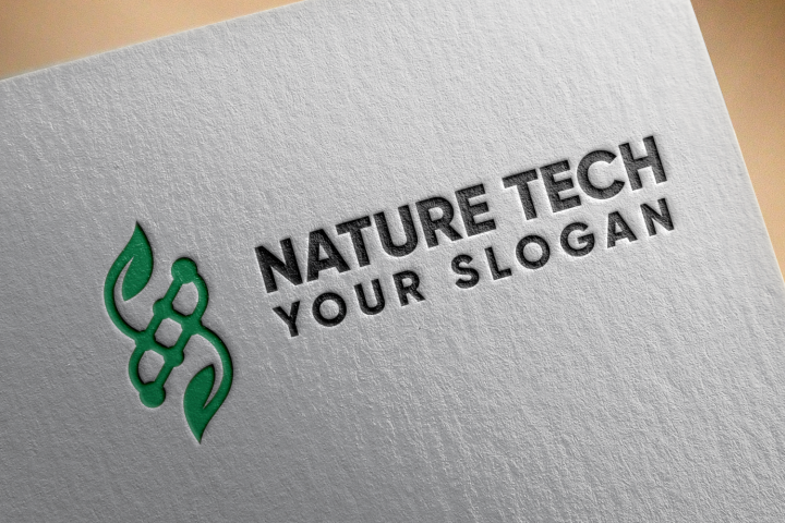 Nature Tech, Logo template