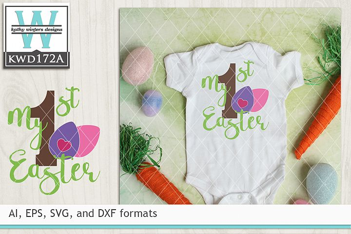 Easter SVG - My First Easter
