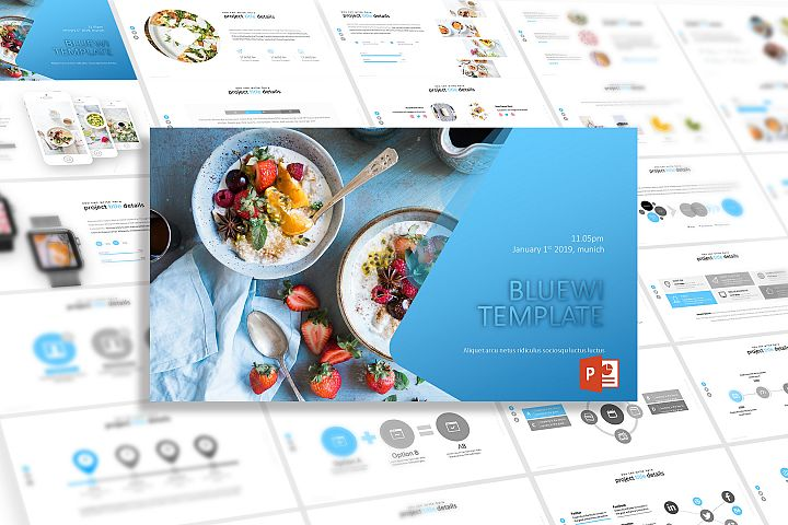 Bluewi - Powerpoint Template