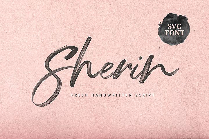 Sherin SVG Font