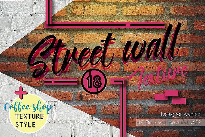 18 Brick wall texture selected 02