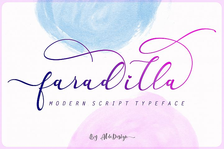 Faradilla - Beautiful Script