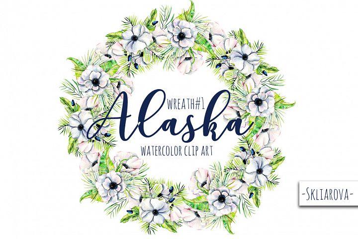 Alaska. Wreath #1