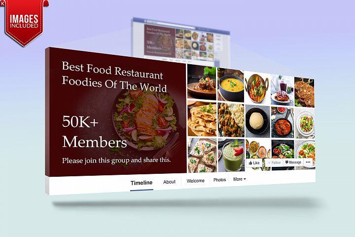 Restaurant Fb Group Cover