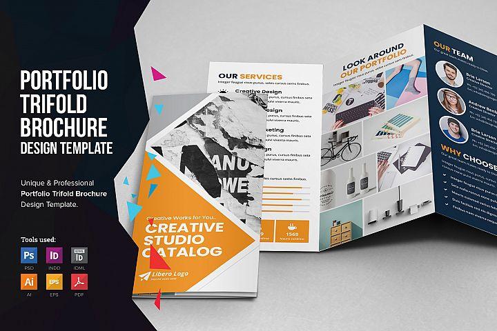 Portfolio Trifold Brochure Design v2