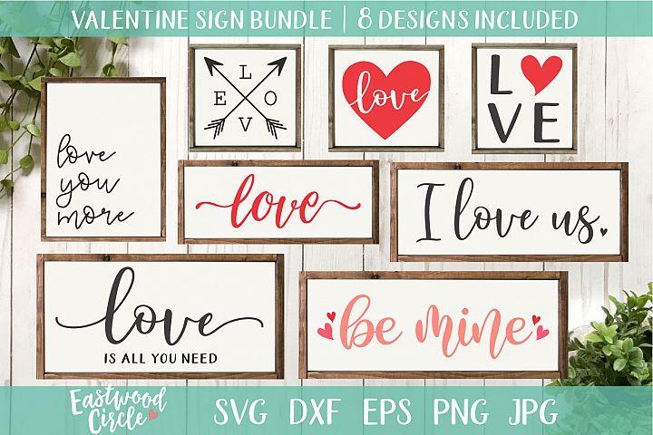 Valentines SVG Cut File Bundle for Crafters