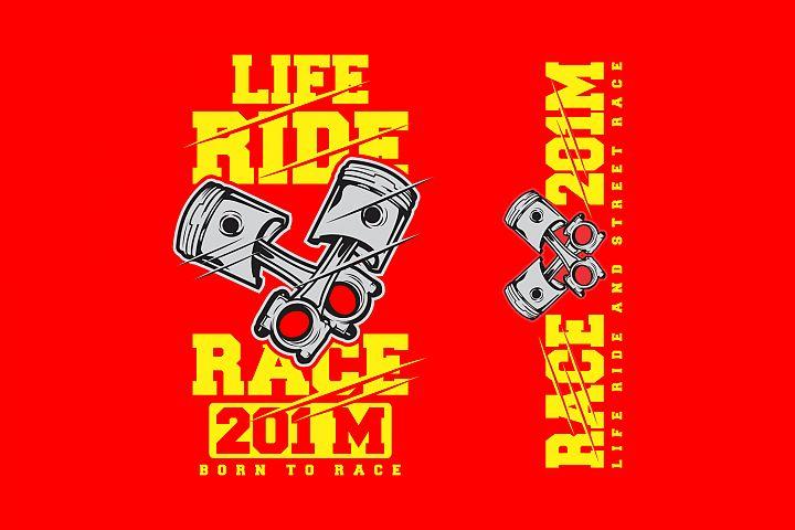 LIVE RIDE RACE 201M