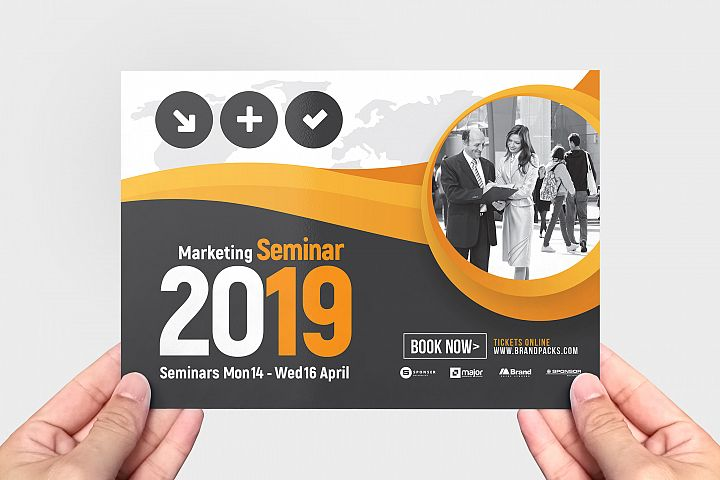 Marketing Seminar Flyer Template example image 3