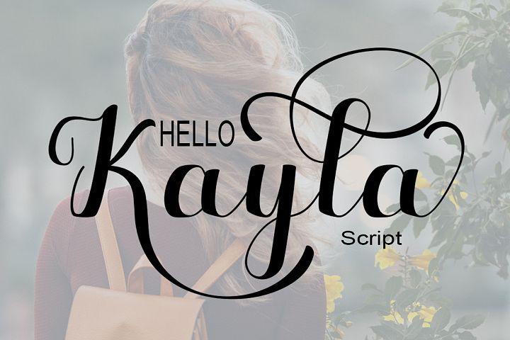 Hello Kayla
