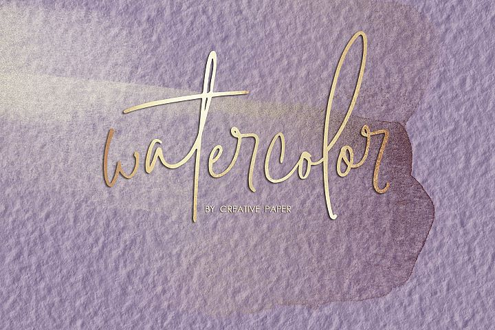 Rose Gold Watercolor Backgrounds
