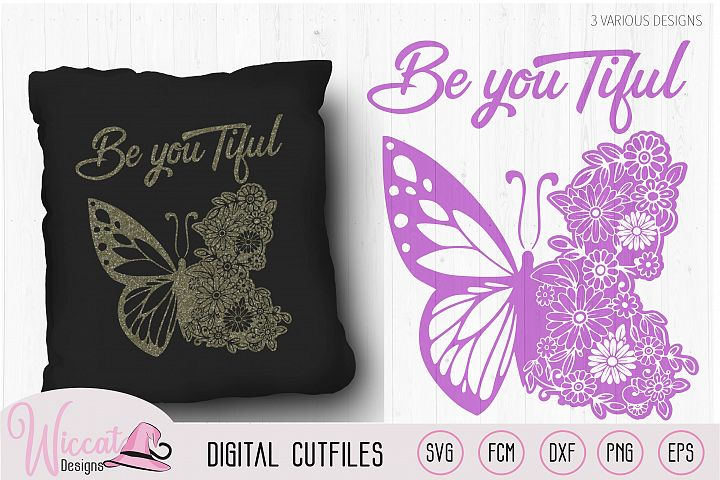 Flower butterfly design, Beautiful quote, Believe quote