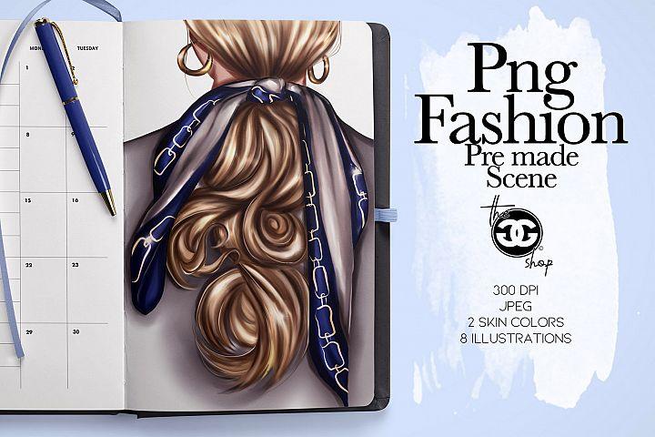 Png Fashion Pre Made Scene