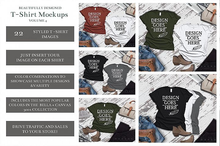 Adult T-Shirt/ T-Shirt Mock-up, Bella Canvas T-Shirts
