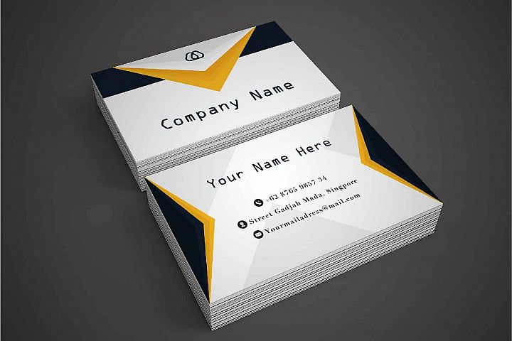 Modern and Simple Business Card Template