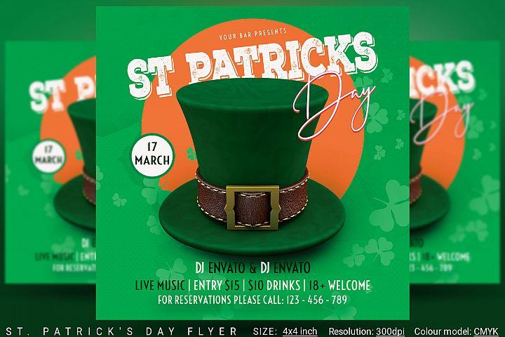 St. Patricks Day Flyer