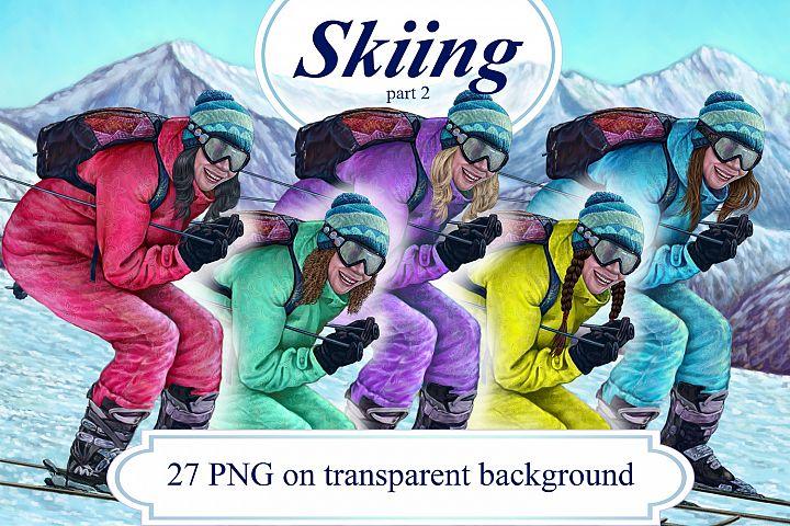 Skiing part 2