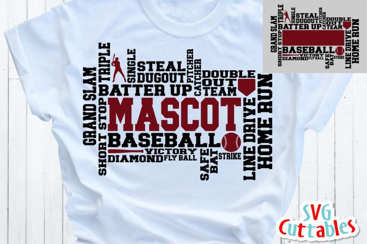 Baseball Word Art | Cut File
