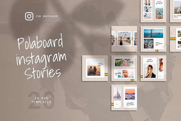 Polaboard Instagram Social Kit