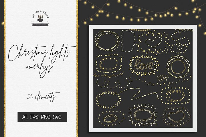 Christmas Light Overlays