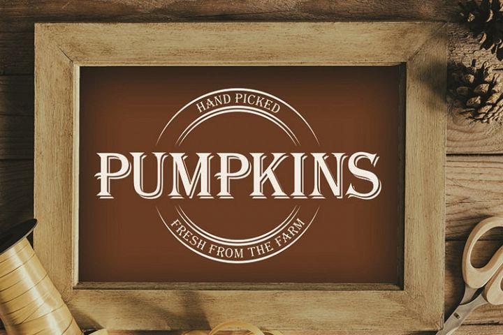 Pumpkins, Happy Harvest, Farm, PRINT, CUT & DESIGN
