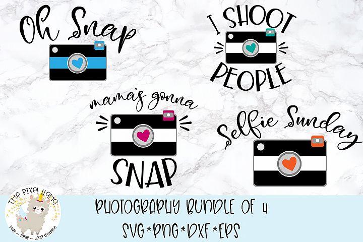 Photography Bundle of 4 SVG Cut File
