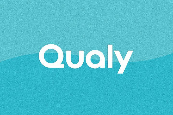 Qualy - Logo Design Font