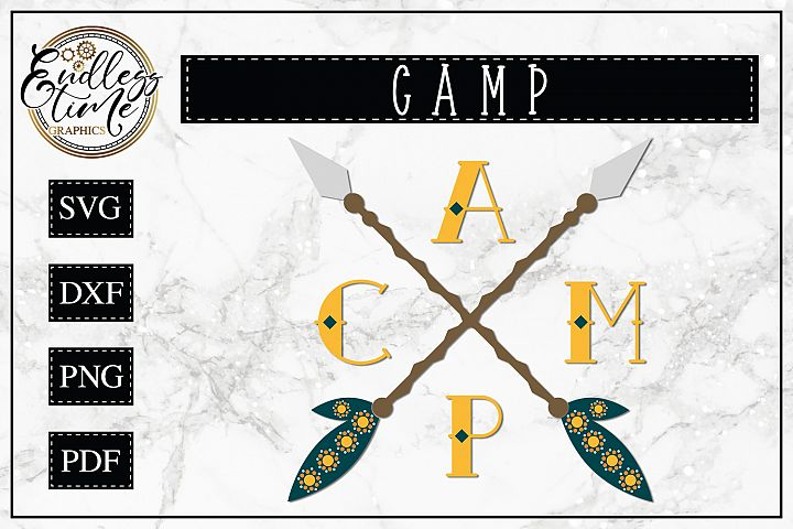 CAMP Arrows SVG example