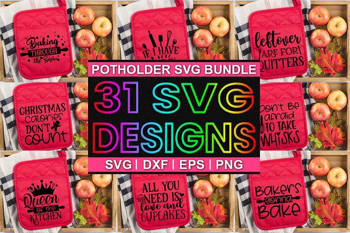 Pot Holder Bundle | Pot Holder Svg |Christmas Svg|31 Designs