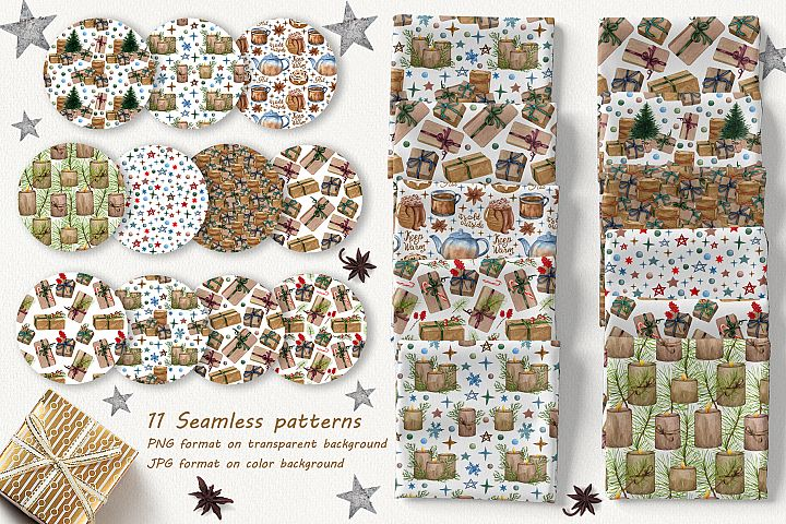 Christmas Time Patterns Collection