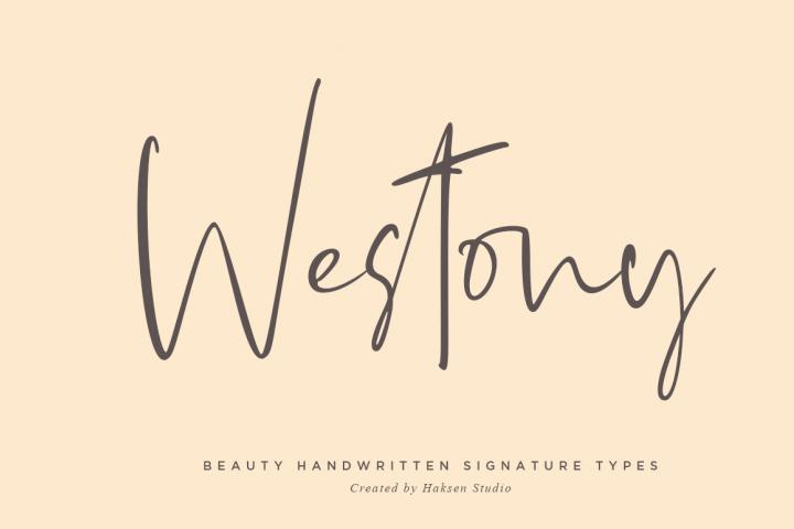 Westony Signature Script