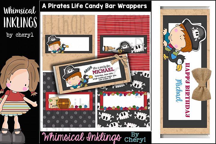 A Pirates Life Candy Bar Wrapper Printable