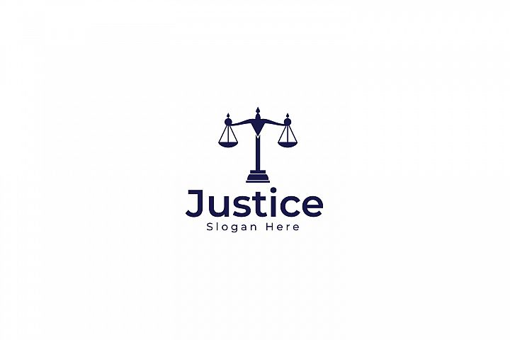 Justice And Law Logo Design.