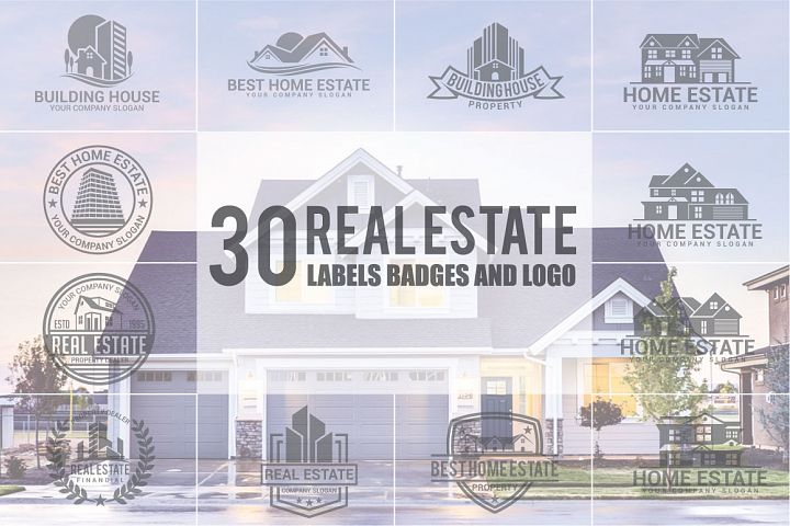 Real Estate Logo & Badges