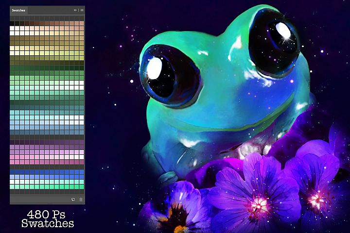 Frog Swatches
