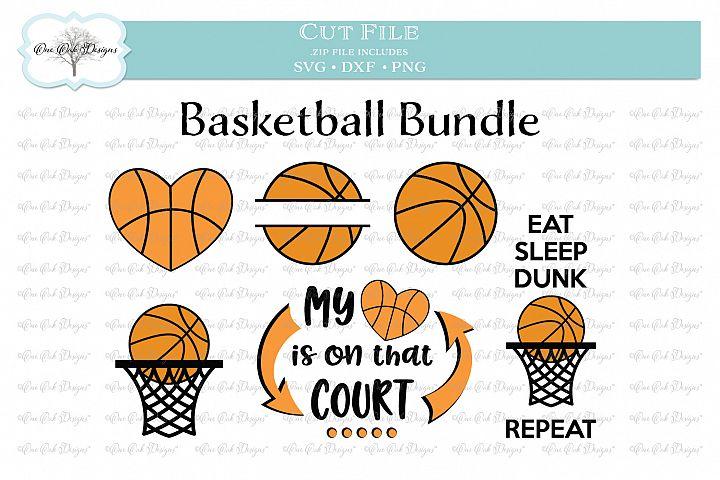 Basketball Bundle - SVG DXF PNG