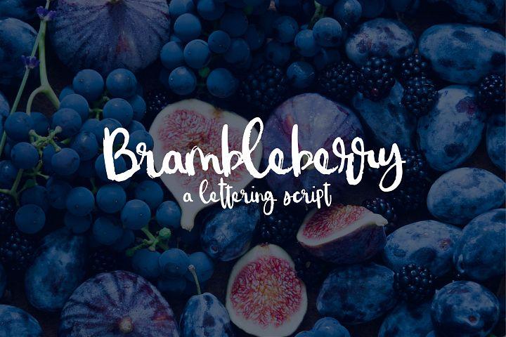 Brambleberry - A Lettering Script