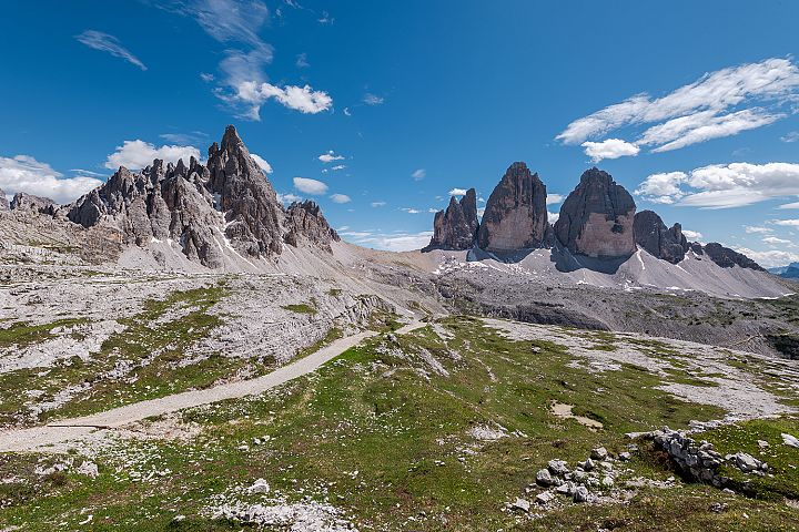 Beautiful Tre Cime di Lavaredo