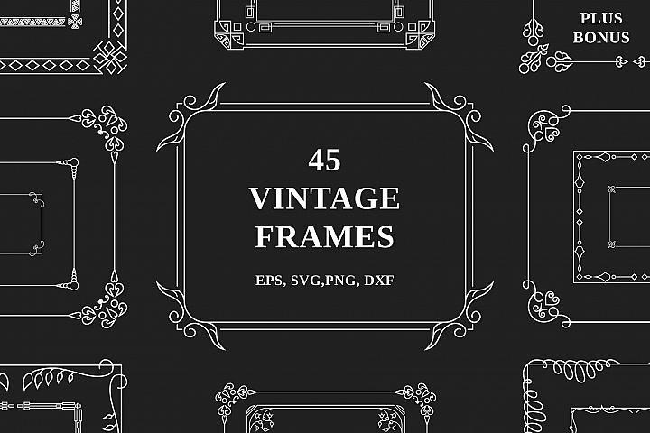 45 Vintage Frames
