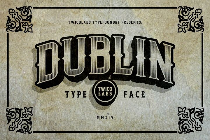 Dublin - Free Font of The Week Font
