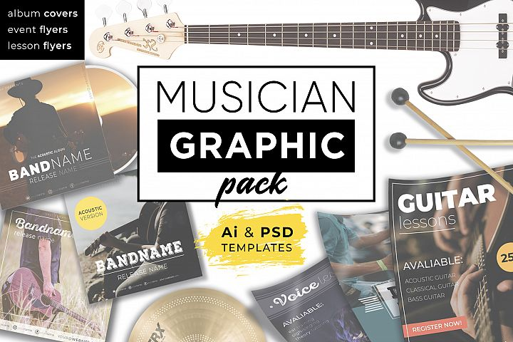 Musician Graphic pack