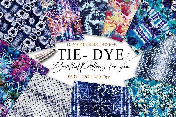 Tie Dye | Shibori Patterns