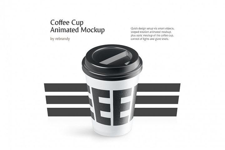 Coffee Cup Animated Mockup