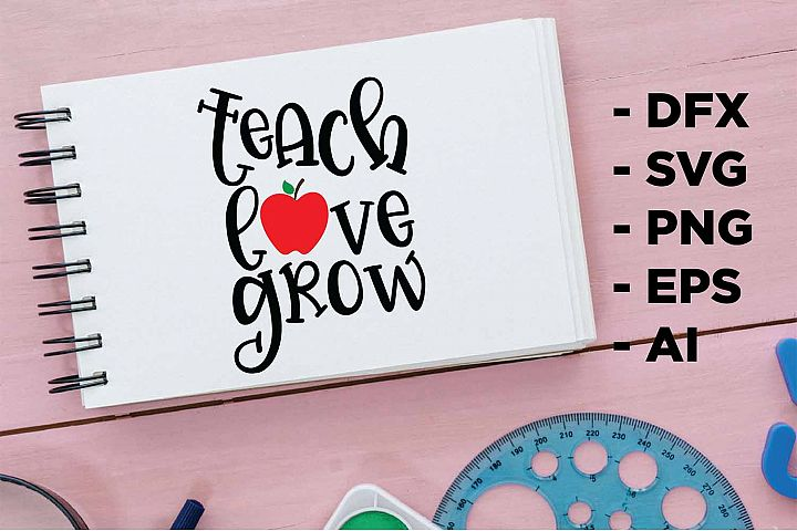 teach love grow Printable