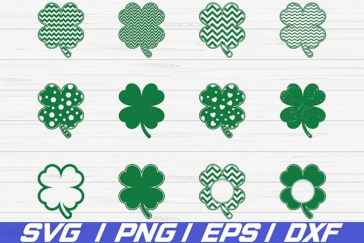 St. Patricks Day SVG/ Clover Leaf Svg/ Cricut/ Cut File